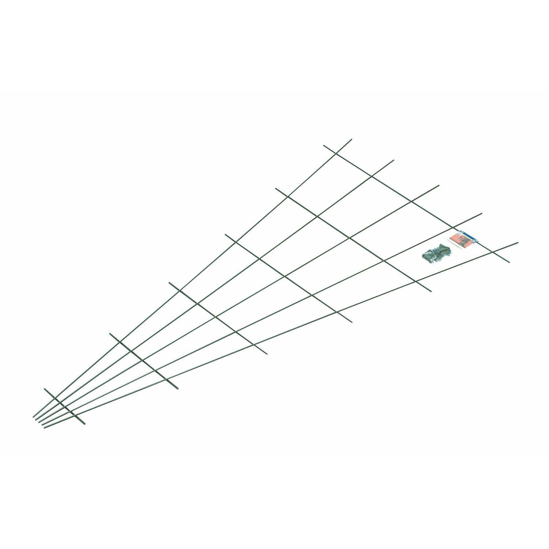 OBI Fächerspalier 150 cm x 75 cm Grün