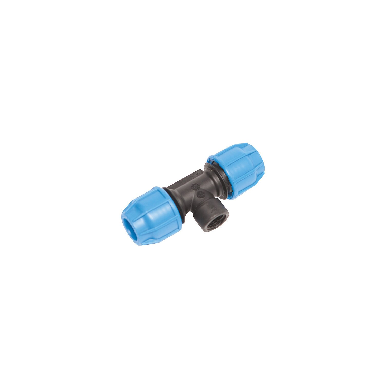 """Sehr T-Stück für PE Rohr 20 mm (3/4"""") mit IG 12,5 mm (Rp 1/2) kaufen  YM74"""