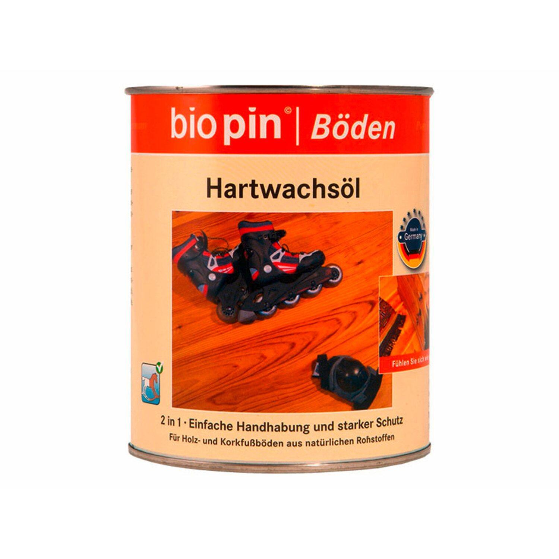 Biopin  Hartwachsöl Transparent seidenglänzend 2,5 ml