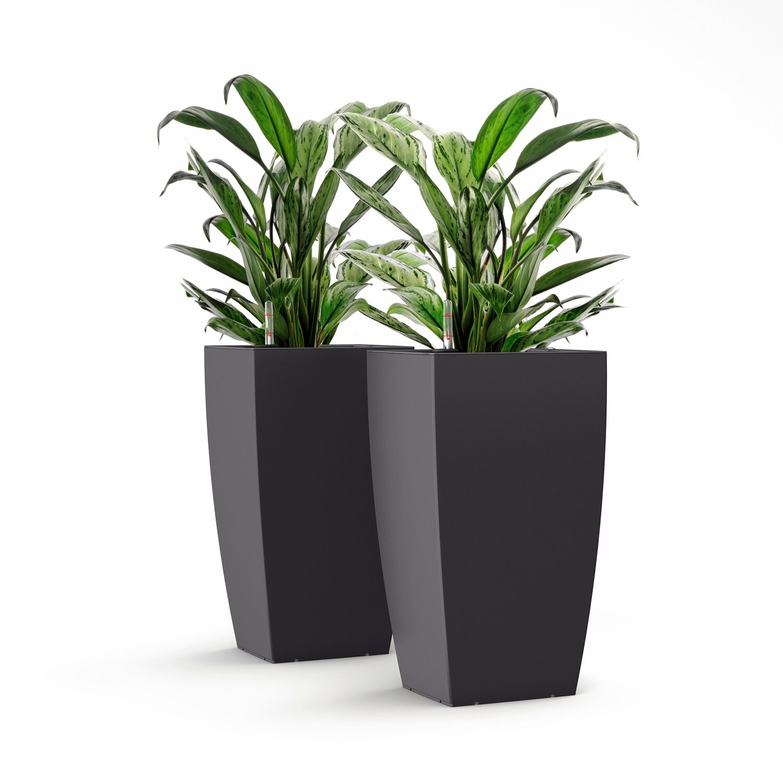 emsa pflanzs ule casa matt 30 cm granit kaufen bei obi. Black Bedroom Furniture Sets. Home Design Ideas