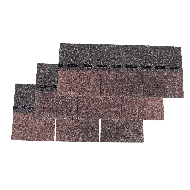 bitumen rechteckschindel easy braun 2 m paket kaufen bei obi. Black Bedroom Furniture Sets. Home Design Ideas