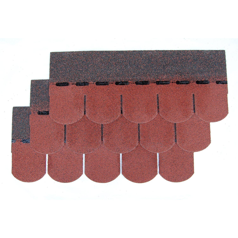 bitumen biberschindel easy rot 2 m paket kaufen bei obi. Black Bedroom Furniture Sets. Home Design Ideas