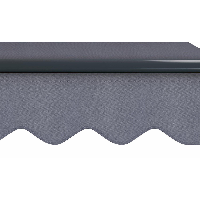 Top OBI Gelenkarmmarkise Aventura 300 cm x 200 cm Anthrazit kaufen bei OBI PS57