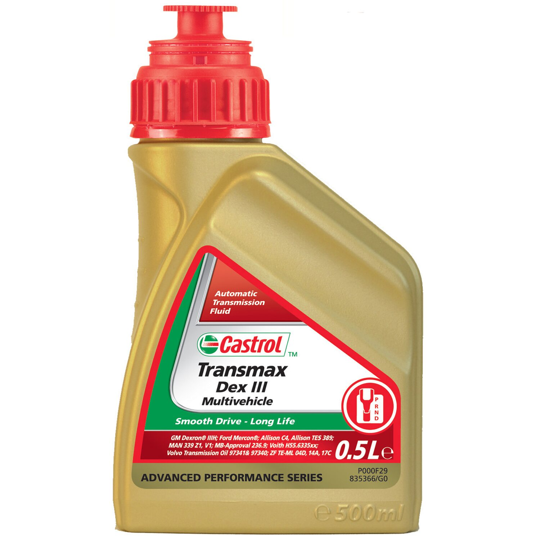 Castrol  Transmax Dex III Multivehicle 500 ml
