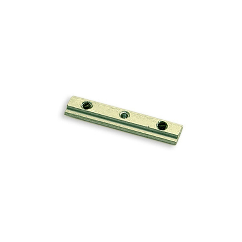 Gardinia Stangenverbinder für Innenlauf Memphis Aluminium 4 cm