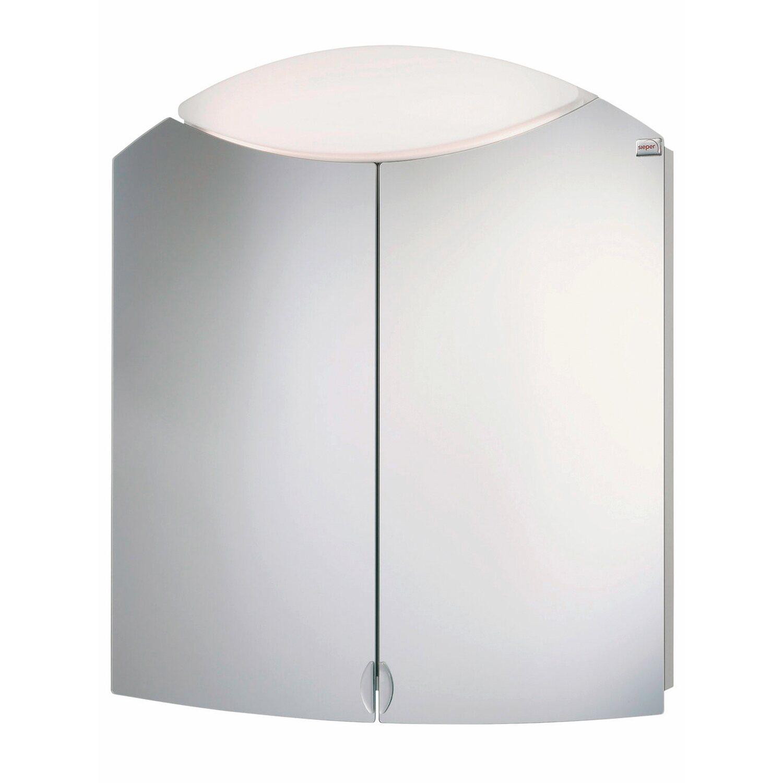 Sieper Spiegelschrank Denver 65 cm Weiß EEK: B-A kaufen bei OBI