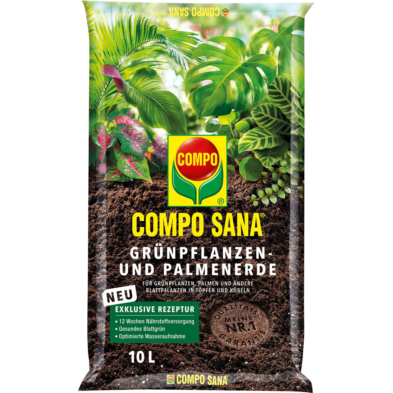 Compo Sana Grünpflanzen- und Palmenerde 10 l