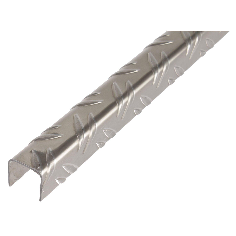 U-Profil blank 29,5 mm x 29,5 mm x 1000 mm