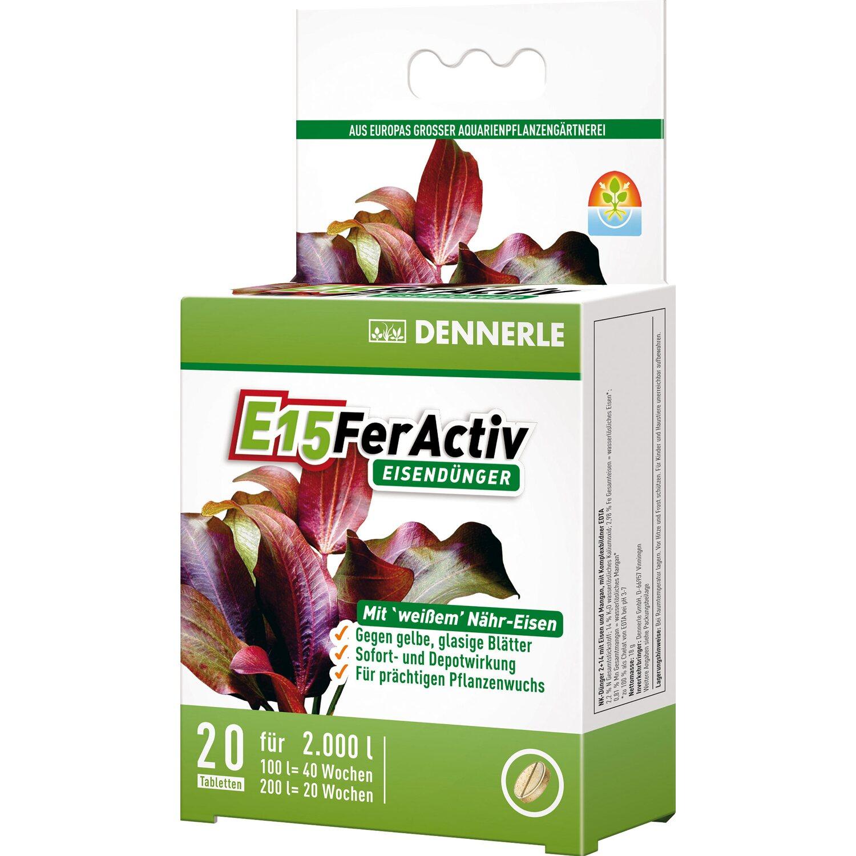 E15 Eisendünger für Aquarienpflanzen 20 Stück