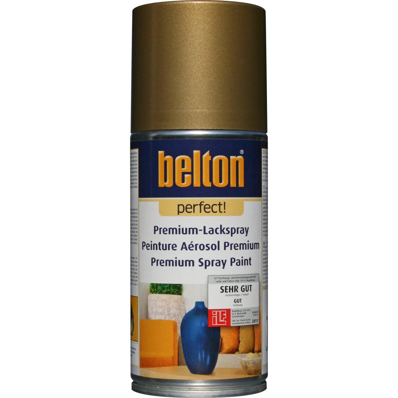 belton Belton Perfect Premium-Lackspray Gold glänzend 150 ml