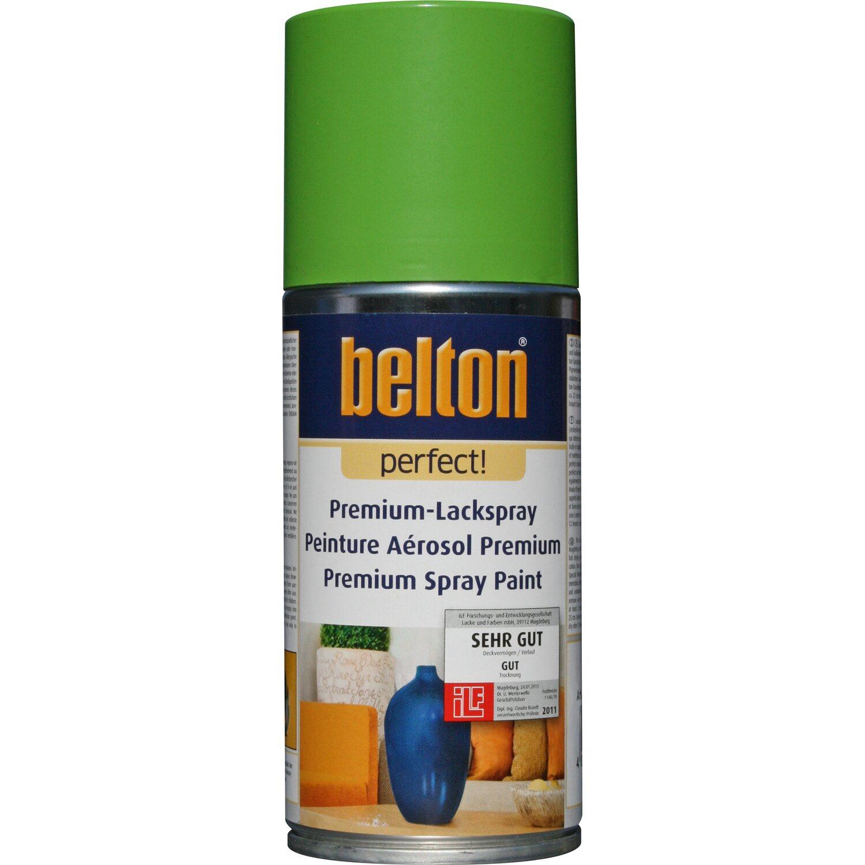 belton Belton Perfect Premium-Lackspray Hellgrün seidenmatt 150 ml