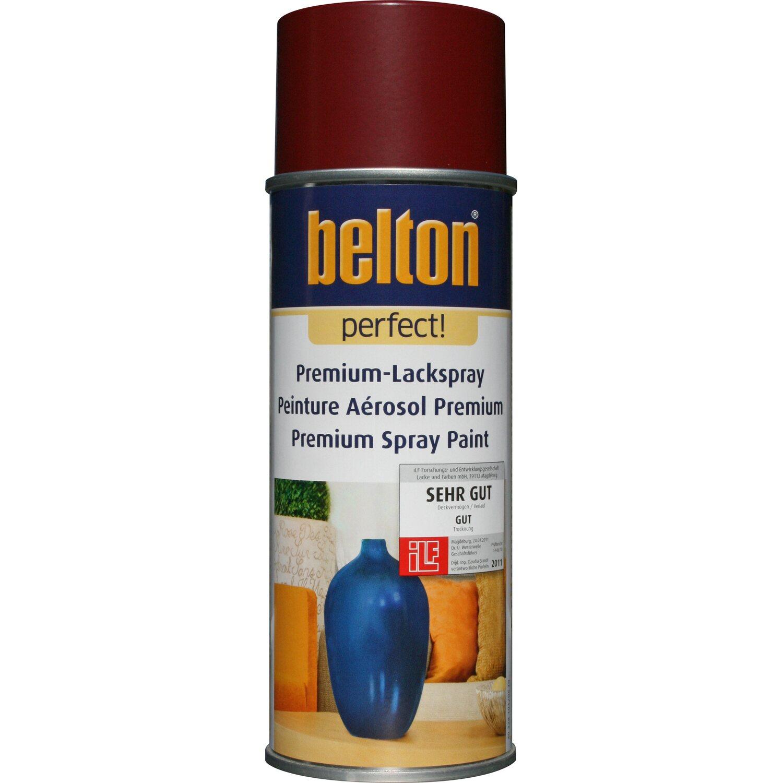 belton Belton Perfect Premium-Lackspray Dunkelrot seidenmatt 400 ml