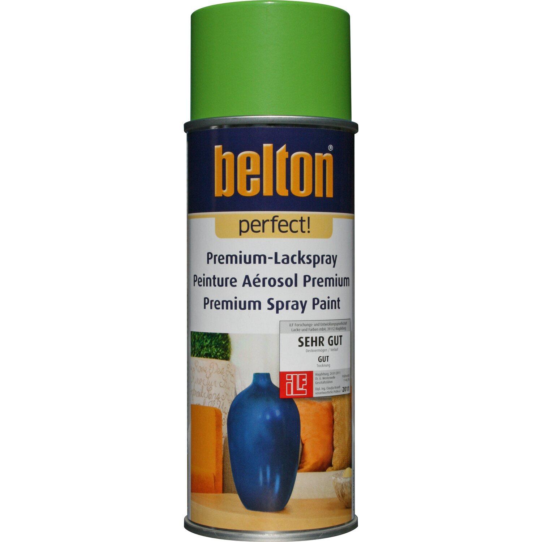 belton Belton Perfect Premium-Lackspray Hellgrün seidenmatt 400 ml