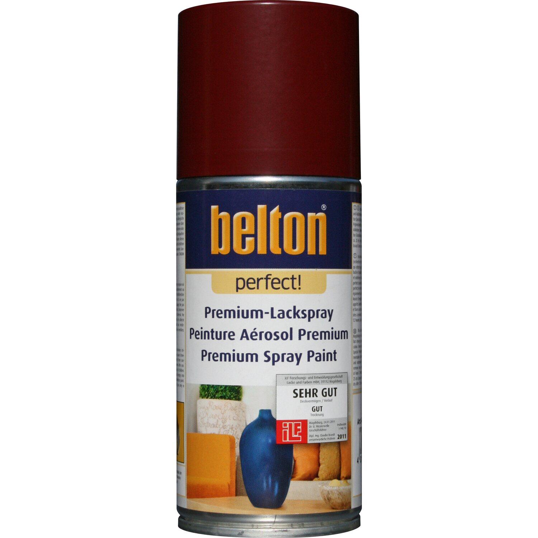belton Belton Perfect Premium-Lackspray Dunkelrot seidenmatt 150 ml