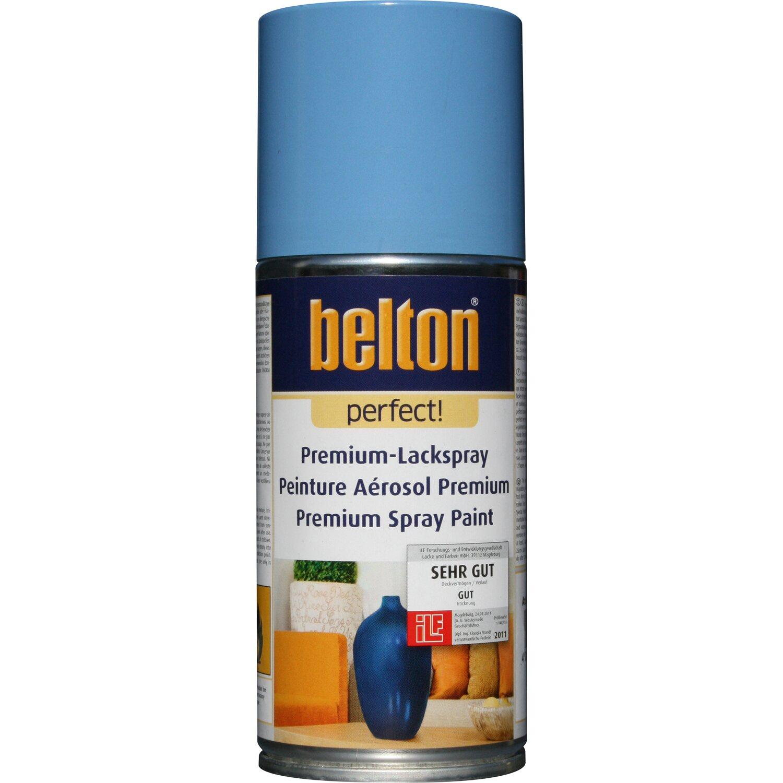 belton Belton Perfect Premium-Lackspray Hellblau seidenmatt 150 ml