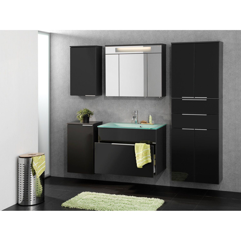 fackelmann waschbeckenunterschrank 1 schublade kara anthrazit kaufen bei obi. Black Bedroom Furniture Sets. Home Design Ideas