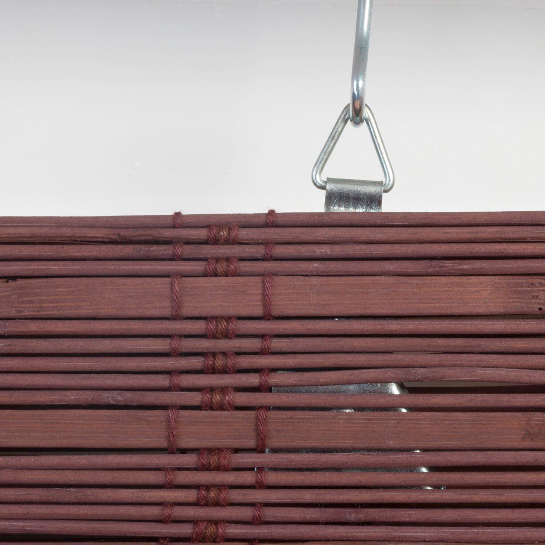 obi bambus raffrollo mataro 120 cm x 160 cm teak kaufen bei obi. Black Bedroom Furniture Sets. Home Design Ideas