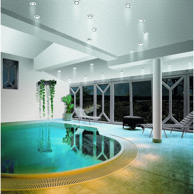 paulmann halogen einbauleuchte premium line 230 v chrom eek e a kaufen bei obi. Black Bedroom Furniture Sets. Home Design Ideas