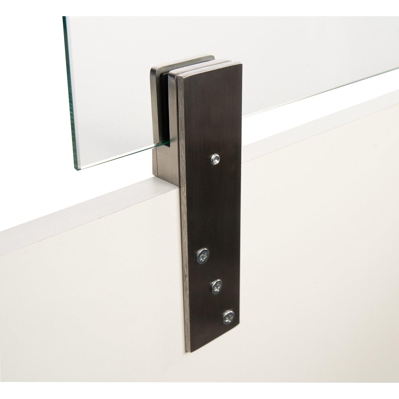 Thekenhalter für ESG 6 mm an Theke montierbar in Edelstahl | Küche und Esszimmer > Bar-Möbel > Tresen und Theken