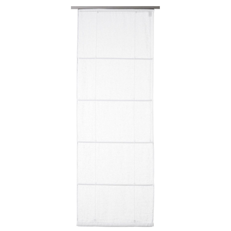 obi raffrollo leinen fabiona 140 cm x 170 cm wei kaufen bei obi. Black Bedroom Furniture Sets. Home Design Ideas