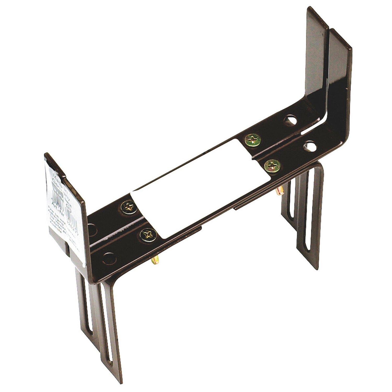 OBI Balkonkastenhalter Braun 16 cm - 22 cm 2-dimensional verstellbar