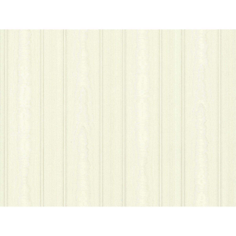 A.S. Creation Satintapete Streifen Silber