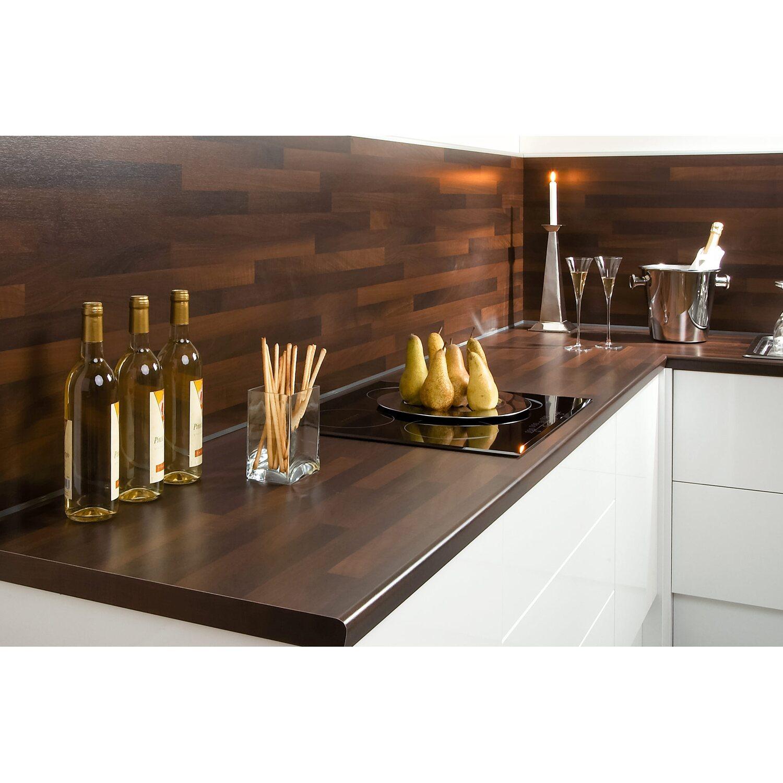 arbeitsplatte 60 cm x 3 9 cm noce holznachbildung bbl 714 kaufen bei obi. Black Bedroom Furniture Sets. Home Design Ideas