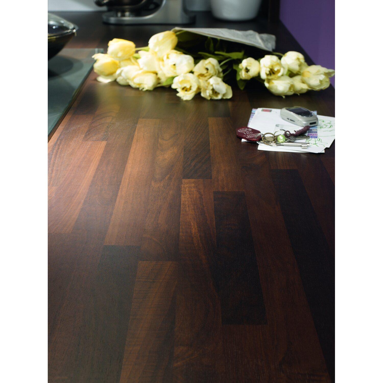 Arbeitsplatte 60 cm x 3,9 cm Noce Holznachbildung (BBL 714) kaufen ...