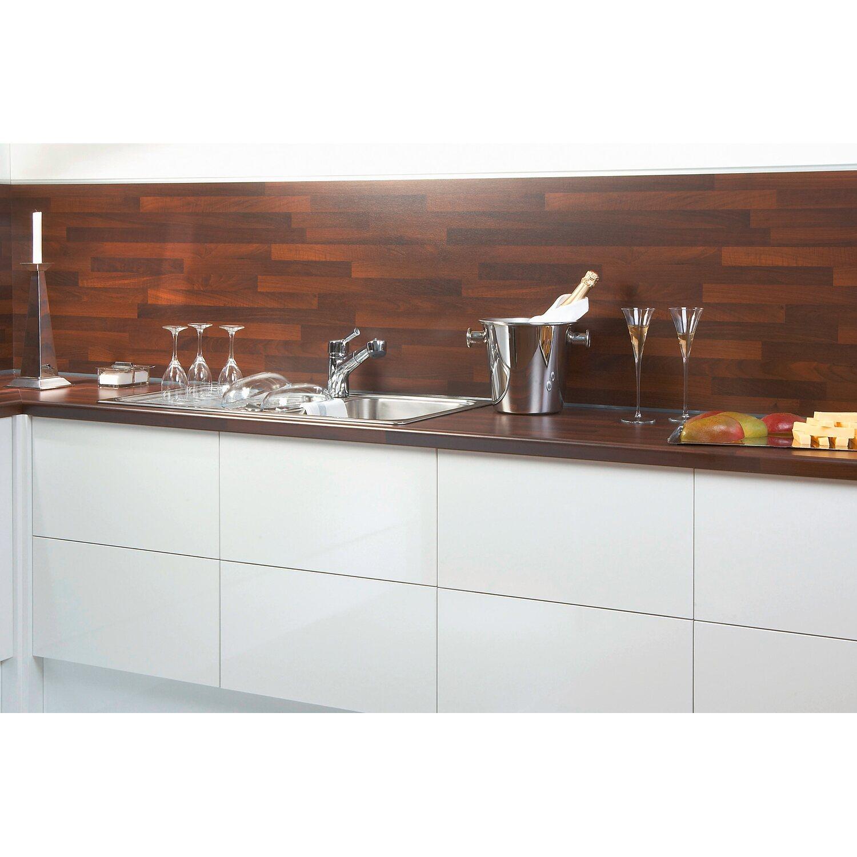 Küchenrückwand 296 Cm X 58 5 Cm Noce Butcherblock Bbl714 Kaufen Bei Obi