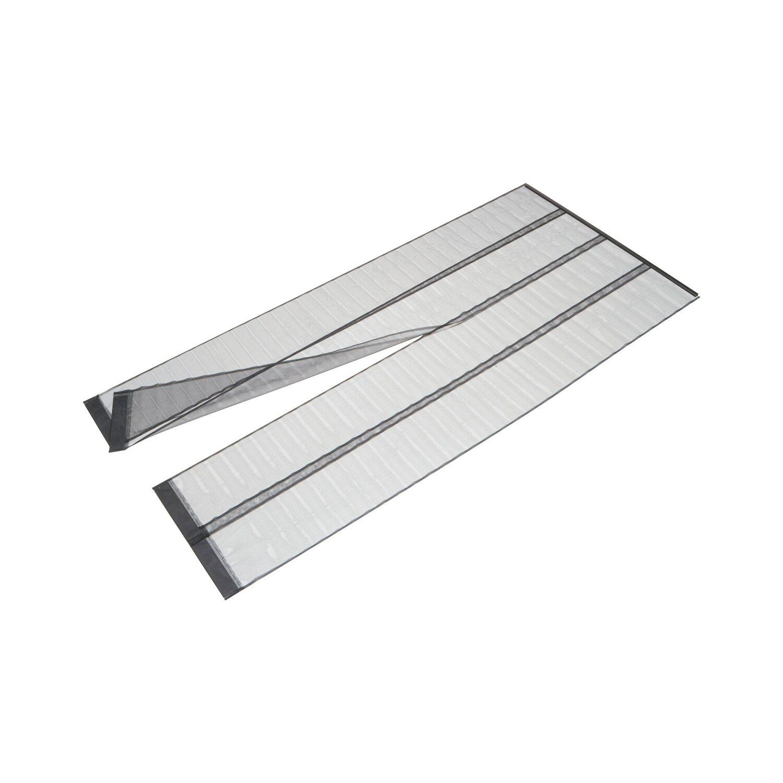 Zimmertüren anthrazit obi  OBI Lamellenvorhang für Türen Anthrazit 220 cm x 95 cm kaufen bei OBI