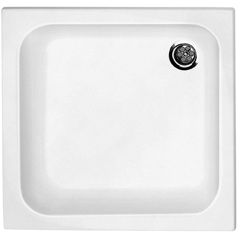 Sanitop-Wingenroth Acryl-Duschwanne Sono 90 cm x 90 cm x 6,5 cm Weiß | Bad > Duschen > Duschwannen | Sanitär-acryl | Sanitop-Wingenroth