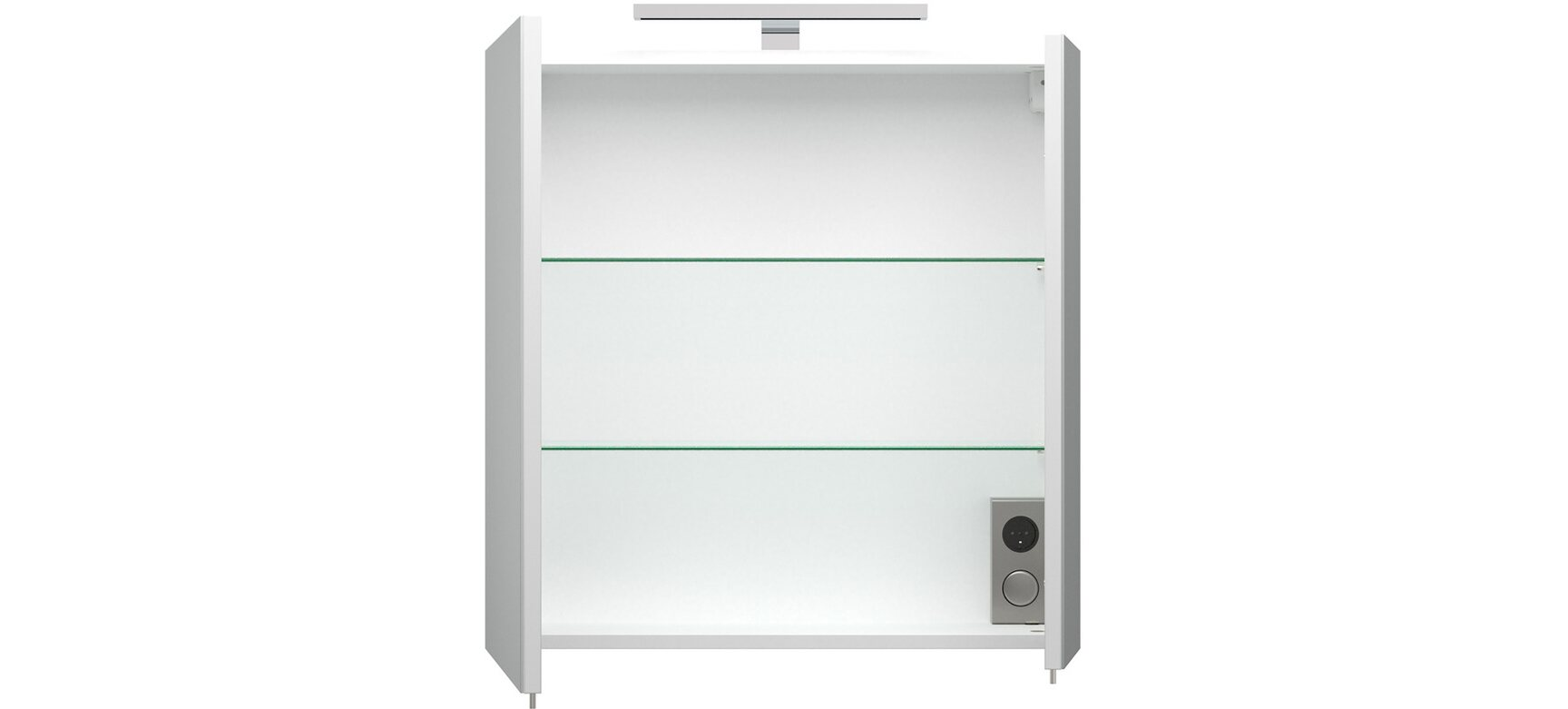 Emotion Badmöbel Komplett-Set EEK:A++ Pro 60 cm Weiß Hochglanz 9 ...