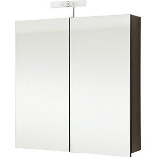 OBI Spiegelschrank EEK: D Santos 75 cm Anthrazit kaufen bei OBI