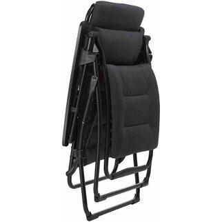 Lafuma Sessel Relax Futura Air Comfort Schwarz 83 Cm X 71 Cm X 113