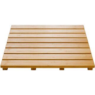 Ridder WC-Vorlegerost aus Holz Grating Bambus Natur 52 cm x 52 cm ...