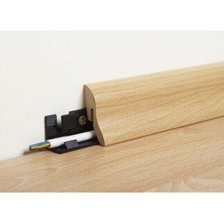 sockelleiste buche 40 mm x 20 mm länge 2600 mm kaufen bei obi - Küche Sockelleiste Eckverbindung
