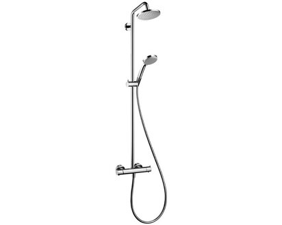 Hansgrohe 27135000 Hans Grohe Showerpipe Croma 160 27135 Thermostat Duschsystem
