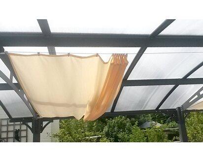 UK Verfügbarkeit erstaunliche Qualität wähle echt Floracord Vierecksonnensegel Elfenbein 330 cm x 140 cm