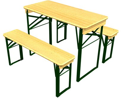 Bierzeltgarnitur Festzeltgarnitur Biertischgarnitur Bierbank Holz Kurz Balkon