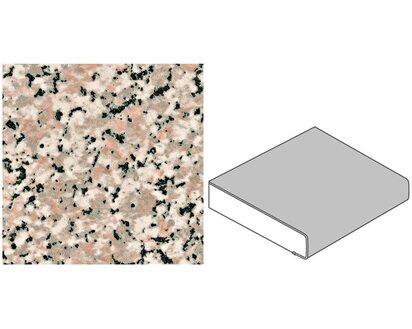 Arbeitsplatte 60 cm x 3,9 cm Granit Grau-Beige Steindekor (GT 217)