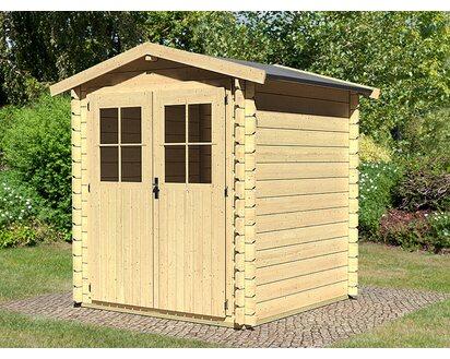Karibu Holz Gartenhaus Tylatt 1 Natur Bxt 175 Cm X 175 Cm Kaufen Bei Obi
