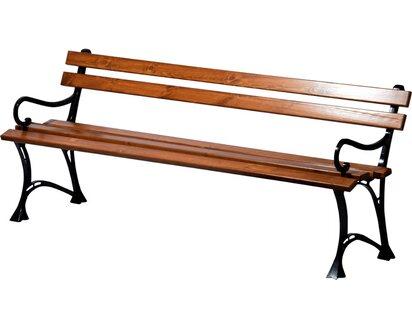 Dobar Gartenbank 4 Sitzer Kiefernholz Geolt Braun 72 5 X 180 X 45 Cm Kaufen Bei Obi