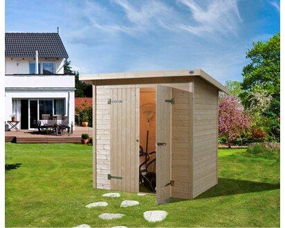 Weka Holz Gartenhaus Easy 180 Cm X 135 Cm Mit Flachdach Kaufen Bei Obi