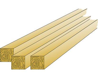T J Kantholzpfosten Kiefer Fichte 9 X 9 X 210 Cm Kaufen Bei Obi