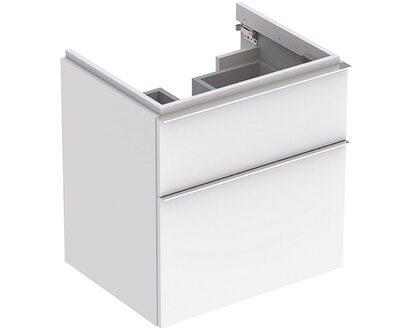Geberit Waschbeckenunterschrank 59 5 Cm Icon Mit 2 Schubladen Weiss Matt Kaufen Bei Obi