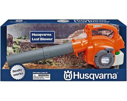 Husqvarna Spielzeug-Laubbläser Kindergartengerät Spielwerkzeug Toy orange grau
