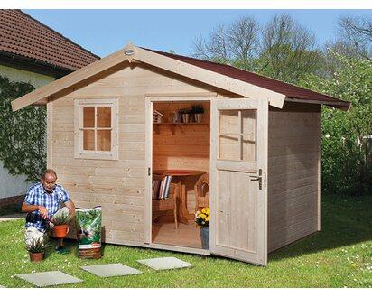 Obi Holz Gartenhaus Bozen C Bxt 300 Cm X 235 Cm Kaufen Bei Obi