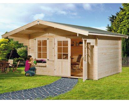 Obi Holz Gartenhaus Riva A Bxt 380 Cm X 300 Cm Kaufen Bei Obi