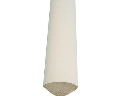 Viertelstab Kunststoff Weiss 12 Mm Lange 2000 Mm Kaufen Bei Obi