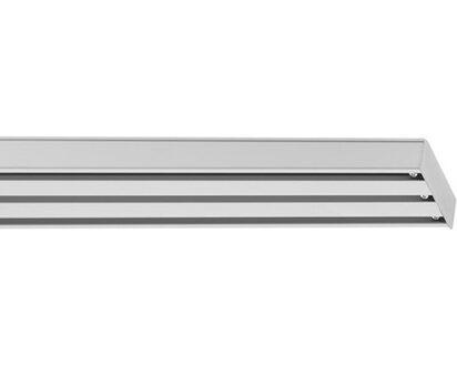 Lichtblick Vorhangschiene Fur Flachenvorhang 3 Laufig Weiss 160 Cm Kaufen Bei Obi